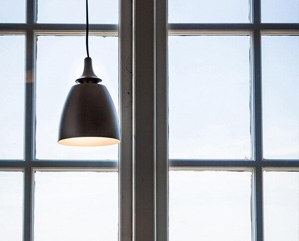 Fönsterlampa